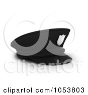 Royalty Free 3d Clip Art Illustration Of A 3d Police Cap