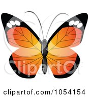 Royalty Free Vector Clip Art Illustration Of A Butterfly by vectorace