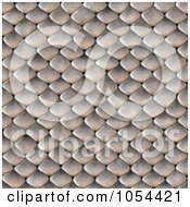 Royalty Free Clip Art Illustration Of A Seamless Snake Scales Background by Arena Creative