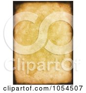 Royalty Free Clip Art Illustration Of A Grungy Canvas Background With Burnt Edges
