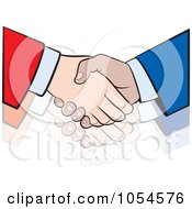 Poster, Art Print Of Business Handshake - 4