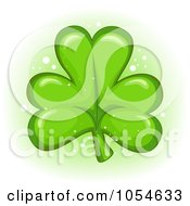 Cartoon Green Clover