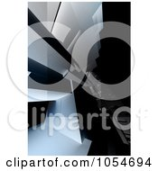 Royalty Free Clip Art Illustration Of A 3d Background Of Architectural Walls