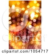 Royalty Free Clip Art Illustration Of An Abstract Orange Light Background by chrisroll
