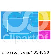 Royalty Free Vector Clip Art Illustration Of A Digital Collage Of File Backgrounds