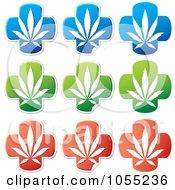 Poster, Art Print Of Digital Collage Of Medical Marijuana Stickers