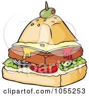 Food Pyramid Sandwich