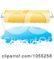 Royalty Free Vector Clip Art Illustration Of A Digital Collage Of Car Wash Banners by Any Vector