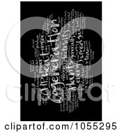 Royalty Free Clip Art Illustration Of A White Cogeneration Word Collage On Black
