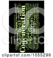 Royalty Free Clip Art Illustration Of A Cogeneration Word Collage