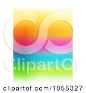 Royalty Free Clip Art Illustration Of An Abstract Rainbow Background 2 by NL shop