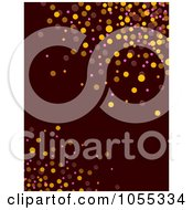 Background Of Colorful Dots On Brown 2