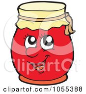 Royalty Free Vector Clip Art Illustration Of A Jam Character