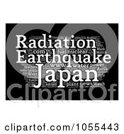 Royalty Free Clip Art Illustration Of A Japan Radiation Word Collage 8 by MacX