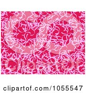 Royalty Free Clip Art Illustration Of A Seamless Pink Abstract Patterned Background