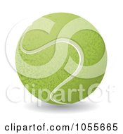 3d Tennis Ball 1