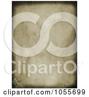 Royalty Free Clip Art Illustration Of A Grungy Wrinkled Canvas Background With Dark Borders