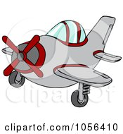 Royalty Free Vector Clip Art Illustration Of A Small Plane