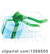 Royalty Free Vector Clip Art Illustration Of A Fast Delivery Gift Box by AtStockIllustration