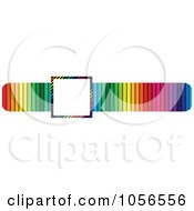 Royalty Free Vector Clip Art Illustration Of Copyspace In A Colorful Banner by Andrei Marincas