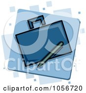 Royalty Free Vector Clip Art Illustration Of A Business Icon