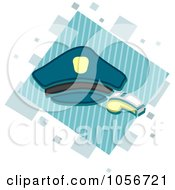 Royalty Free Vector Clip Art Illustration Of A Police Icon