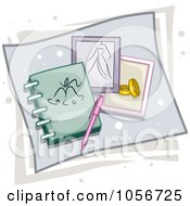 Royalty Free Vector Clip Art Illustration Of A Wedding Planner Icon