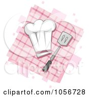 Royalty Free Vector Clip Art Illustration Of A Chef Icon