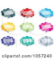 Royalty Free Vector Clip Art Illustration Of A Digital Collage Of Chat Icons