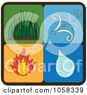 Royalty Free Vector Clip Art Illustration Of A Digital Collage Of Elements Icons 3