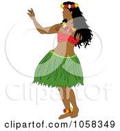 Hawaiian Hula Dancer - 1