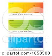 Royalty Free Vector Clip Art Illustration Of A Digital Collage Of Bank Checks 2