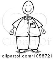 Chubby Stick Man