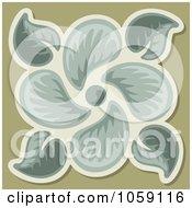 Leaf Tile Design 1