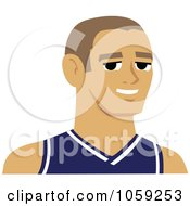 Male Avatar Wearing A Jersey 1