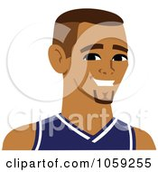 Male Avatar Wearing A Jersey 3