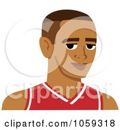 Male Avatar Wearing A Basketball Jersey 2
