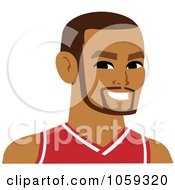 Male Avatar Wearing A Basketball Jersey 4