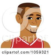 Male Avatar Wearing A Basketball Jersey - 3