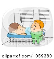 Acupuncturist With A Patient