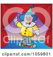Performing Clown 3