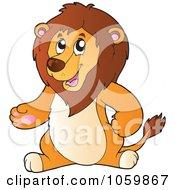 Gesturing Lion