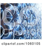 Royalty Free CGI Clip Art Illustration Of A 3d Weaving Texture Background 1 by Mopic