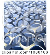 Royalty Free CGI Clip Art Illustration Of A 3d Weaving Texture Background 2 by Mopic