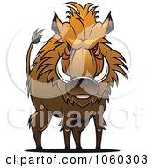Razorback Boar Logo 11