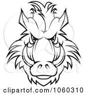 Razorback Boar Logo 6