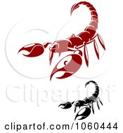 Royalty Free Vector Clip Art Illustration Of A Digital Collage Of Scorpion Logos by Vector Tradition SM