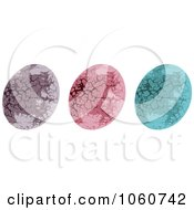 Royalty Free Vector Clip Art Illustration Of A Digital Collage Of Stone Textured Easter Eggs