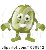 Royalty Free Vector Clip Art Illustration Of A Kiwi Character