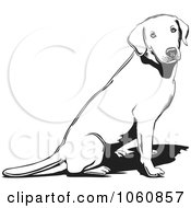 Outlined Lab Sitting